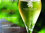 Complimenatry copy of Glass of Bubbly at IWINETC 2015